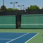 Carmel Country Club Charlotte Hard Tennis Courts Backboard New Construction- 2 (1)