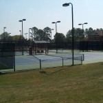Carmel Country Club Charlotte Hard Tennis Courts New Construction- 1