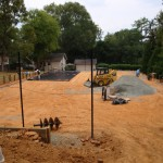 Carrboro Residential Clay Har Tru HydroCourt New Construction- 1