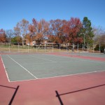 ES King Village Raleigh Tennis Court Reconstruction- Before