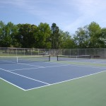 ES King Village Raleigh Tennis Court Reconstruction- Complete