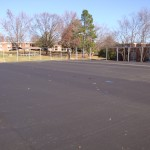 ES King Village Raleigh Tennis Court Reconstruction- Paving