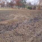 ES King Village Raleigh Tennis Court Reconstruction- Pulverization