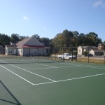Fayetteville Tennis Court New Construction- 1