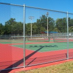 Flaherty Park Wake Forest Tennis Courts New Construction