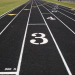 Heritage High School Wake Forest Latex Track New Construction- 1