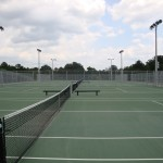 Heritage High School Wake Forest Tennis Courts New Construction