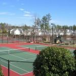 Morrisville Tennis Court New Construction