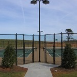 North Raleigh Tennis Court New Construction