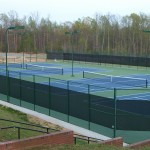 Person County High School Tennis Courts New Construction