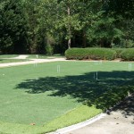Raleigh Synthetic Turf Croquet Court