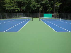 Raleigh Tennis Court Reconstruction- 2013