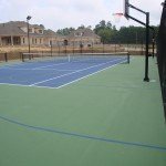 Residential Tennis Basketball Court New Construction- Apex 2