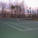 Rolesville Tennis Court New Construction