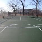 St. Pauls Church NC Tennis Court New Construction- 6