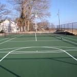 St. Pauls Church NC Tennis Court New Construction- 7