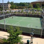 UNC Chapel Hill Basketball Courts New Construction