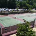 UNC Chapel Hill Tennis Courts New Construction