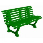Deluxe-Courtside-Park-Bench